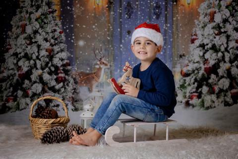 La Navidad de Antonio y abuelo