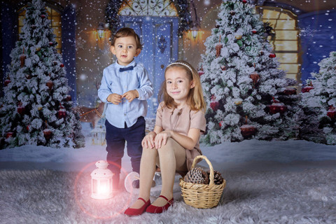 La fotos de Navidad de Claudia con Alejandro