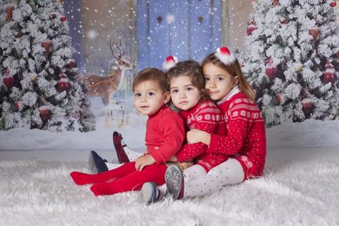 Jesús y sus primos en Navidad