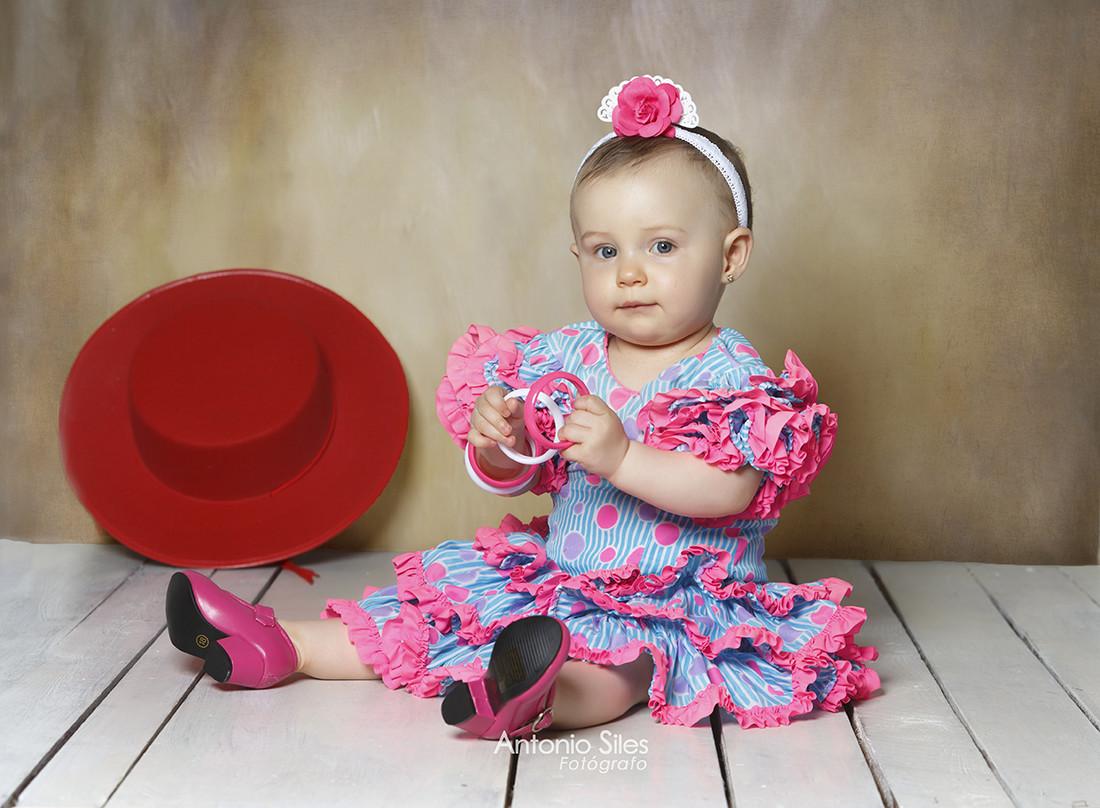 fotos-feria-almeria-niños-trajes-tipicos