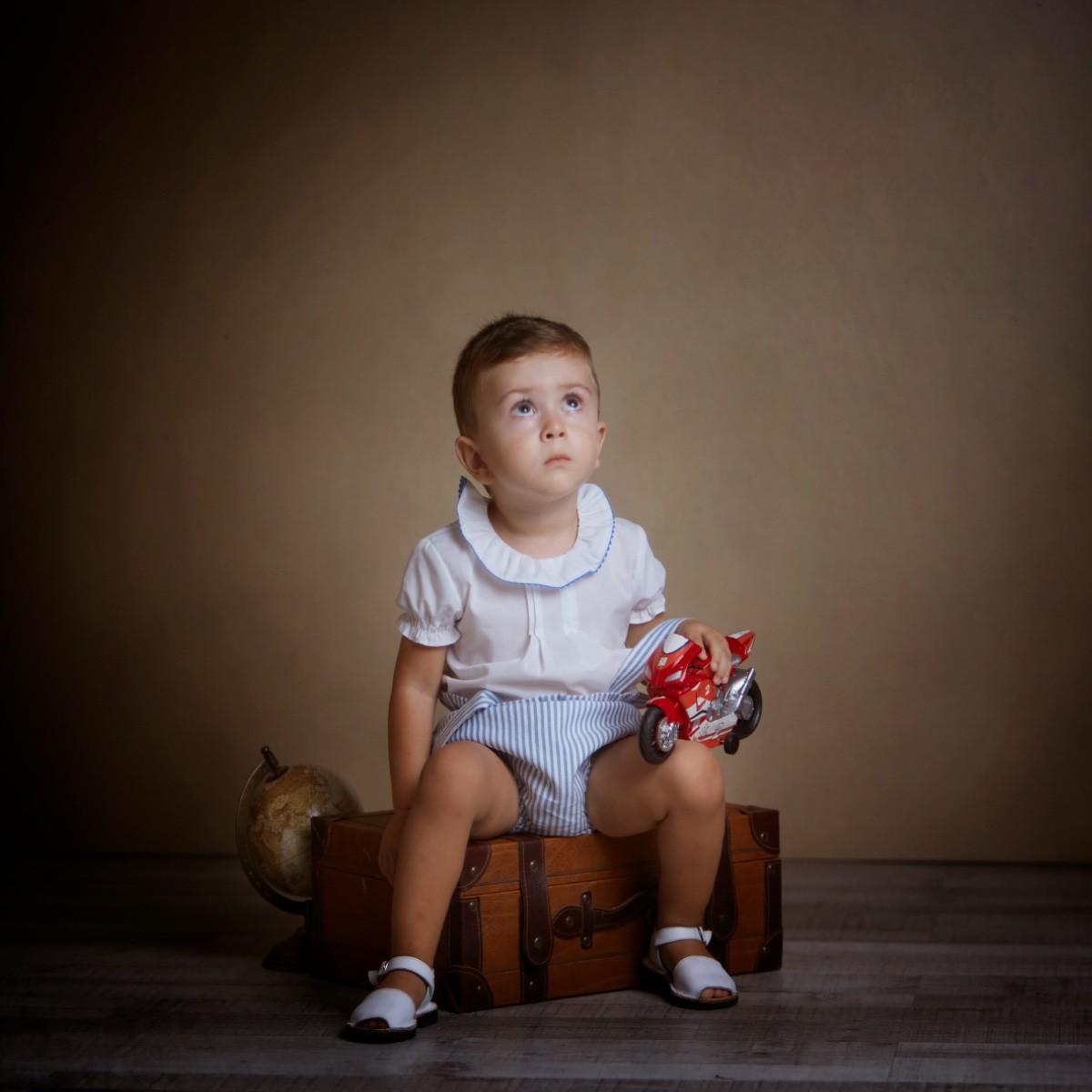 Fotógrafo infantil de estudio en Almería Antonio Siles